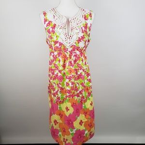 Lilly Pulitzer falling for you floral sheath dress